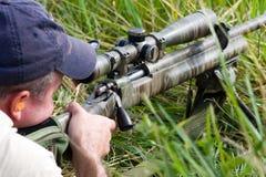 Konkurrenz der Nächstenliebe-3-Gun Stockbild