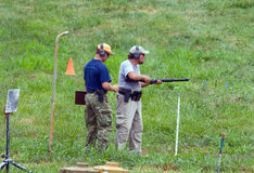 Konkurrenz der Nächstenliebe-3-Gun stockbilder