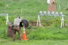 Konkurrenz der Nächstenliebe-3-Gun lizenzfreie stockfotos