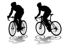 Konkurrenz-Radfahren Lizenzfreie Stockfotos