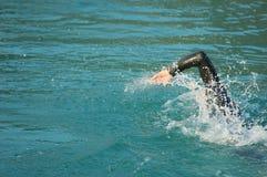 In Konkurrenz schwimmen Lizenzfreie Stockfotos
