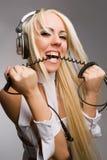 Konkurrenzfähige Musikart Stockfoto