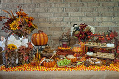 Konkurrieren Halloween-Verbreitung Stockfotografie