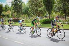 Konkurrierende Radfahrer Lizenzfreie Stockbilder