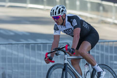 Konkurrierender Radfahrer Lizenzfreies Stockbild