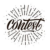 Konkurs karta zdjęcie royalty free