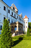 Konopiste Castle in Czech Republic Stock Photo