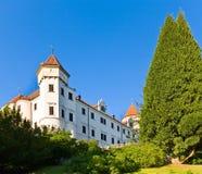 Konopiste Castle in Czech Republic Royalty Free Stock Images