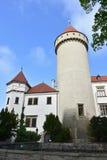 Konopiste castle,Czechrepublic. Konopiste castle near Prague in Czechrepublic stock photography