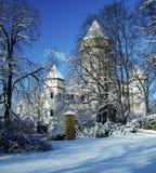 Konopiste Palace. Konopiste Chateau in winter, Czech Republic Stock Images