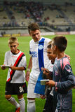Konoplyanka Yevgen with children Royalty Free Stock Photos