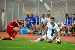 Konoplyanka Yevgen injured Stock Images