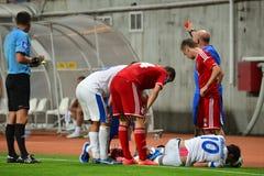Konoplyanka Yevgen injured Stock Photos