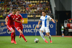 Konoplyanka Yevgen and two rivals Royalty Free Stock Photography