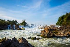 Konpapeng waterfall Royalty Free Stock Photo