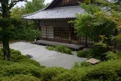 Konpuku-jitempel Katze - Kyoto Lizenzfreie Stockfotografie