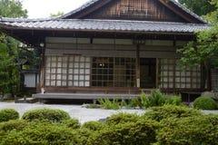 Konpuku-jitempel Katze - Kyoto Lizenzfreies Stockfoto