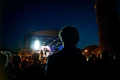 Konsert Arkivfoton