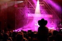 konsert Fotografering för Bildbyråer