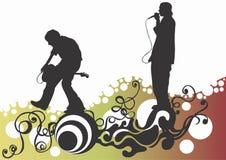konsert stock illustrationer