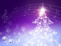 Konsert av det nya året royaltyfri illustrationer
