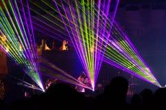 Konsert för nytt år Royaltyfria Bilder