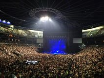 konsert arkivbild