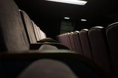 Konsert Hall Seats Arkivbild