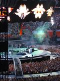 konsert milan u2 Royaltyfri Foto