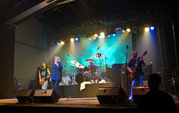 konsert nazareth Royaltyfri Foto