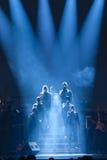 Konsert på Harpa Royaltyfria Bilder