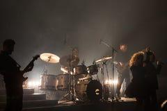 Konsert på Harpa Royaltyfri Fotografi