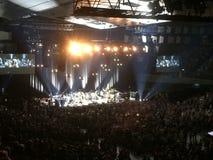 Konsert på Wien Stadthalle Royaltyfri Foto