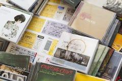 Konsertbiljetter Fotografering för Bildbyråer