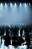 konsertdansmusik Fotografering för Bildbyråer