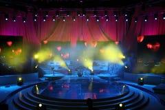 konsertetapp Fotografering för Bildbyråer