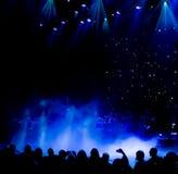 Konsertetappljus Royaltyfri Fotografi