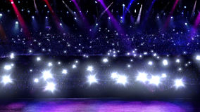 konsertexponeringslampa Royaltyfri Fotografi
