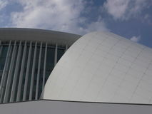 konserthall luxembourg royaltyfria foton