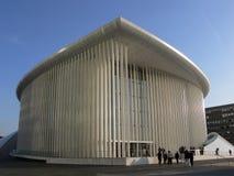 konserthall luxembourg Royaltyfri Foto