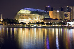 konserthall singapore Royaltyfri Foto