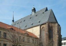 Konserthall St-Ulrich-Kirche, Halle, Tyskland royaltyfri foto