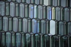 konserthallharpa iceland reykjavik Royaltyfri Bild