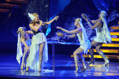konsertkylieminogue royaltyfri bild
