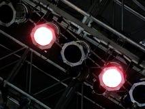 konsertlampor Arkivbild