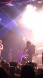 konsertlampor Royaltyfri Fotografi