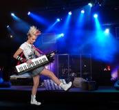konsertmusiker Royaltyfri Fotografi