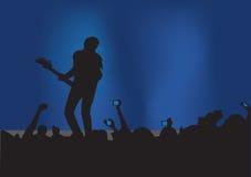 konsertrock Royaltyfria Foton