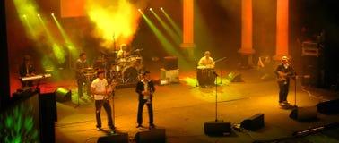 konsertsalsa Royaltyfria Bilder