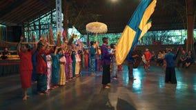 Konsertshow i Saung Angklung Mang Udjo arkivfilmer
